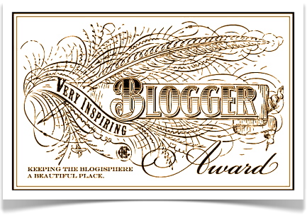 Very Inspiring Bloggers Award