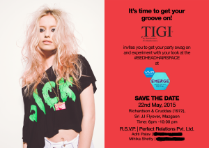 TIGI Event Invite