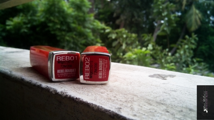 REB01 and REB02 Maybelline New York